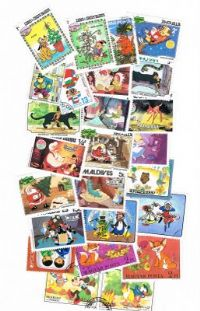 25 different cartoons packet